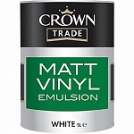 Crown Trade Matt Vinyl Emulsion Матовая краска